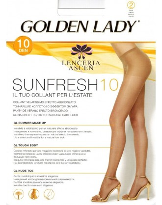 Panty 22J Sunfresh Pack 2 Golden Lady