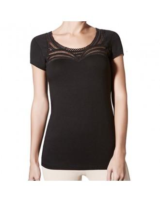 Camiseta M/Corta Shakira-Modal 1072627 Janira