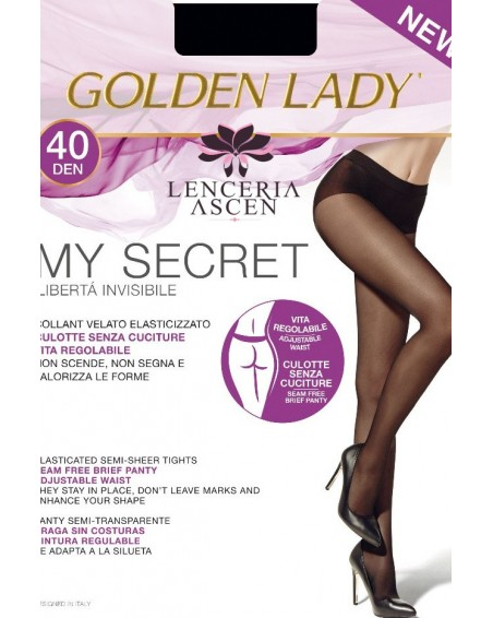 Panty Sin Costuras My Secret 40 Golden Lady