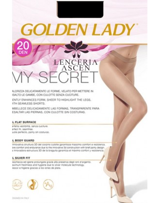Panty Sin Costuras My Secret 20 Golden Lady