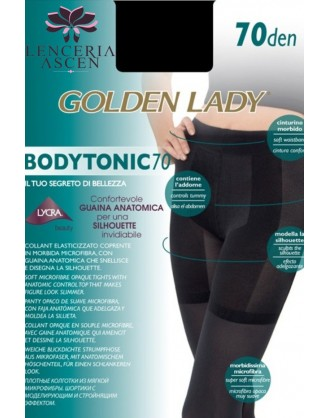 Panty Opaco Body Tonic 70 Golden Lady