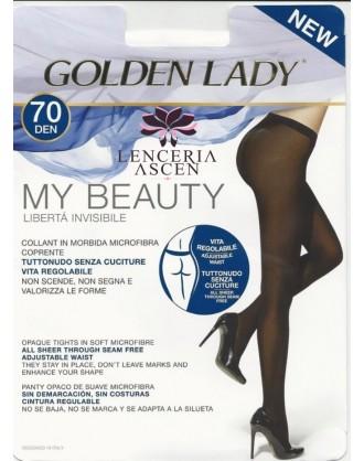 Panty Sin Costuras My Beauty 70 Golden Lady