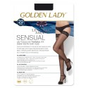 Media Antideslizante Sensual 20 Golden Lady