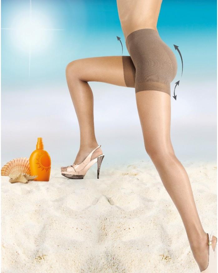 Panty Short-Up Bronzé 1020897 Janira