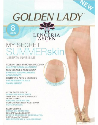 Panty Verano My Secret Summer Skin 8 Golden Lady
