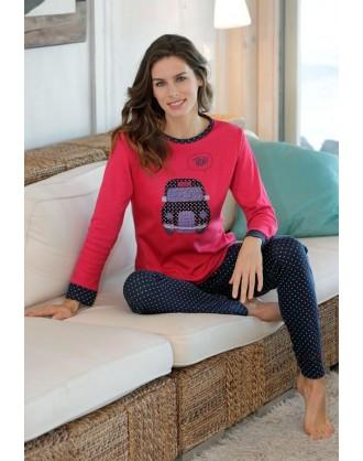 Pijama Invierno Señora P671220 Massana