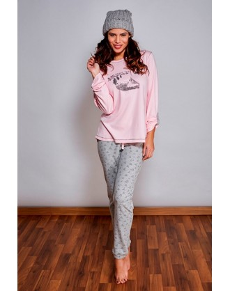 Pijama Invierno Señora 1RUSTIK Barandi