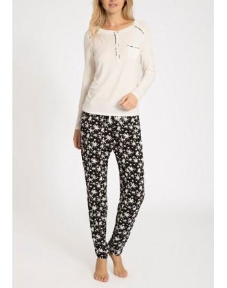 Pijama Invierno Señora QS5821E-PLU Calvin Klein