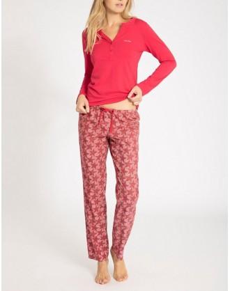 Pijama Invierno Señora QS5978E-TSP Calvin Klein