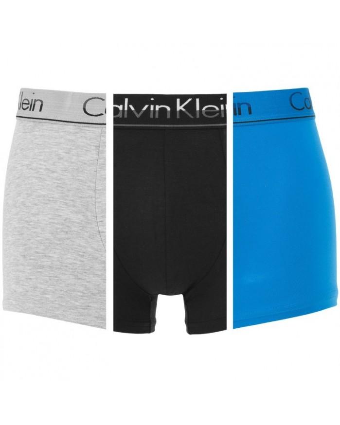 Boxer NB1452A-FGW Pack 3 Calvin Klein