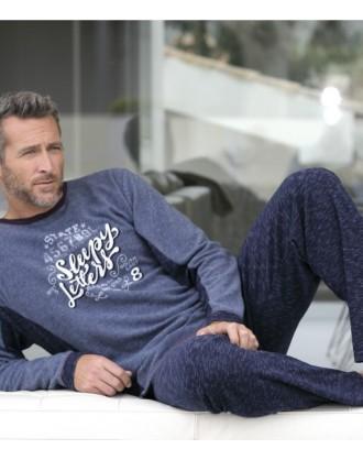 Pijama Invierno Caballero P681307 Massana