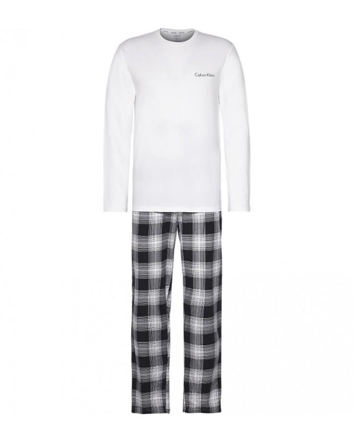 Pijama Invierno Caballero NM1600E-GTQ Calvin Klein