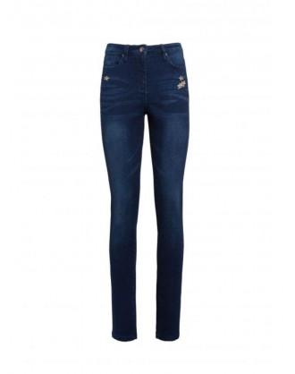 Leggings Jeans Strass A013114PM Philippe Matignon