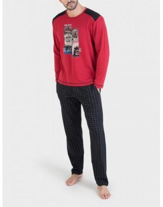Pijama Invierno Caballero P691315 Massana