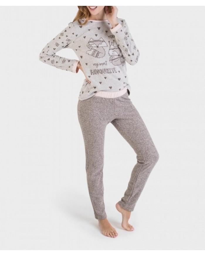 Pijama Invierno Señora P691214 Massana