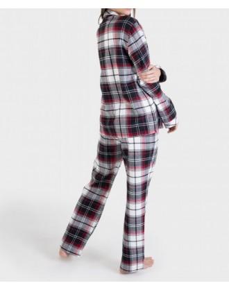 Pijama Invierno Señora P691227 Massana vista trasera