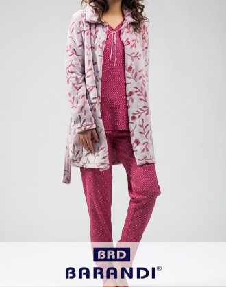 Pijama Invierno Señora ADRI-11 Barandi