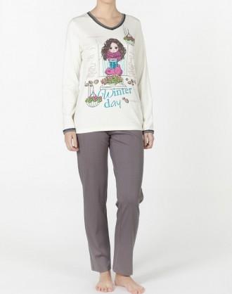 Pijama Invierno Señora 1921848 Señoretta