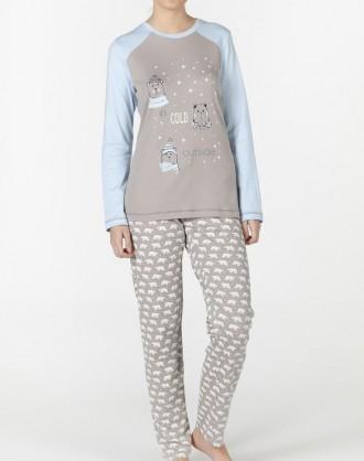 Pijama Invierno Señora 1921055 Señoretta