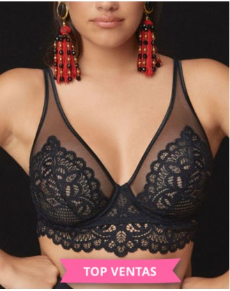 Sujetador Longline First Night 0141886 NEG PrimaDonna Twist